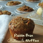 Raisin Bran Buttermilk Muffins