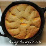 Peachy Breakfast Cake