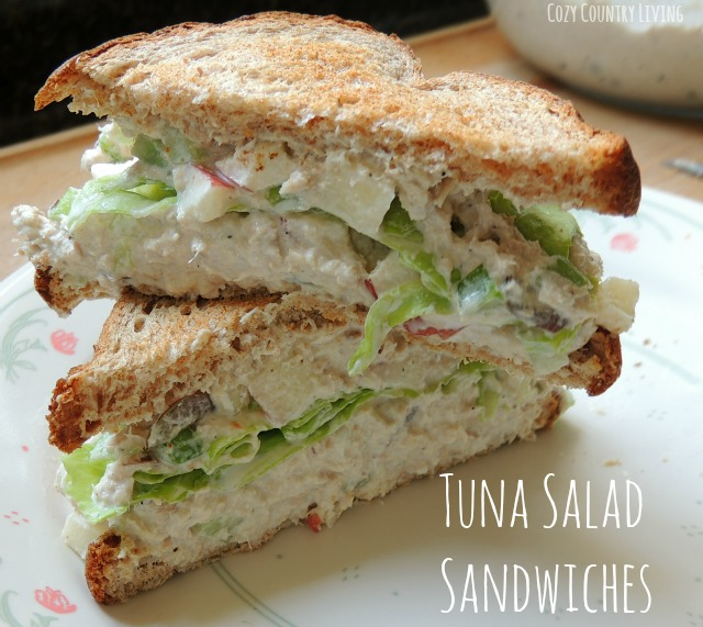 Tuna Salad Sandwich Tuna salad sandwiches