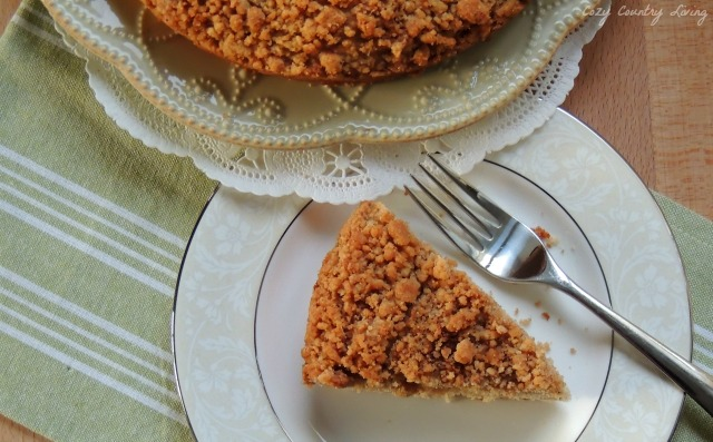 Apple layered crumb cake for Best ever apple cake country living