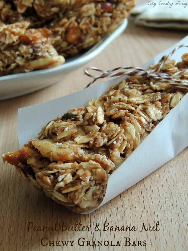 Nut Chewy Granola Bars Peanut Butter & Banana Nut Chewy Granola Bars ...