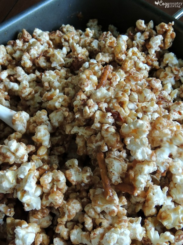 how to make sweet and salty microwave popcorn