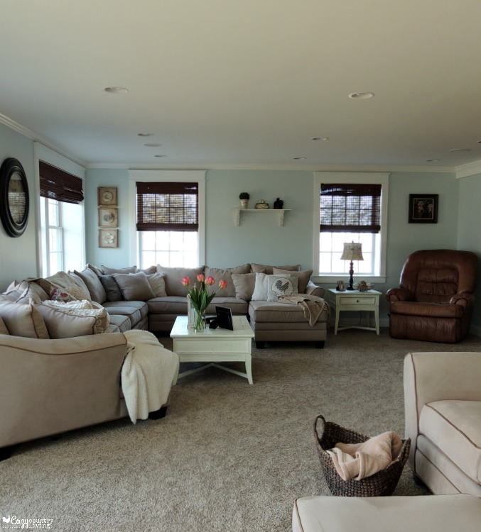 Big Living Rooms : My Big Living Room Reveal #RFBloggers