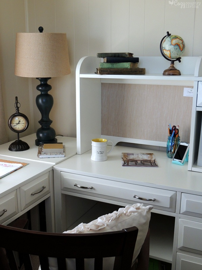 Colorful Cozy Home Office