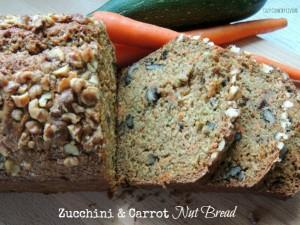 Zucchini Carrot Nut Bread